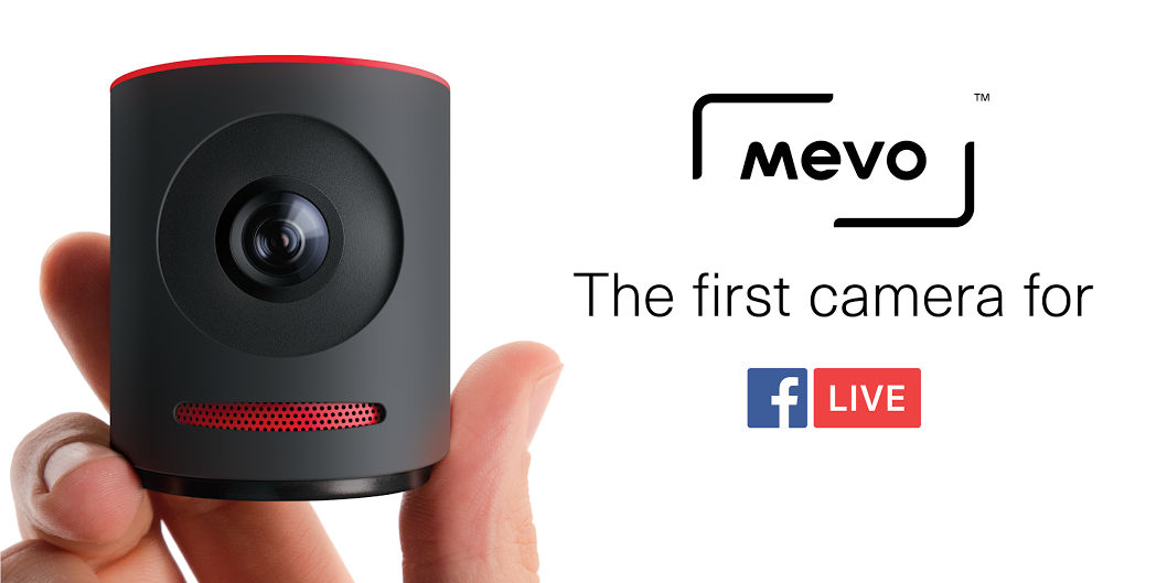 Mevo by livestream the first camera for facebook live for Camera streaming live