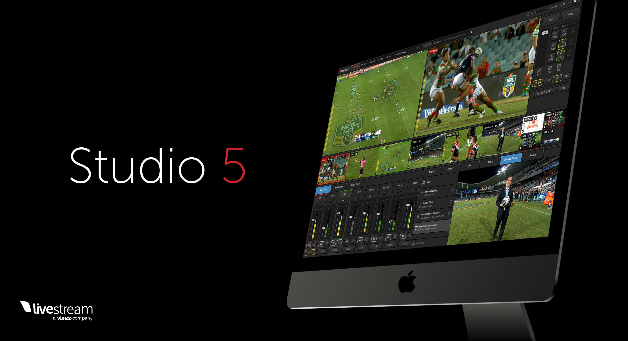 Livestream 2018 NAB Updates: Studio for Mac, New Hardware, OTT Live